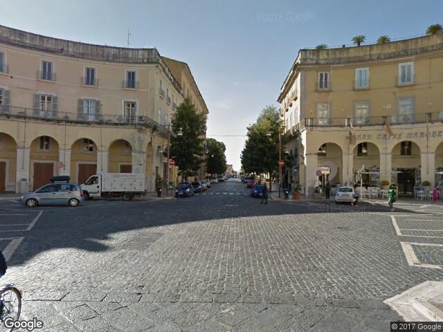 Caserta town square